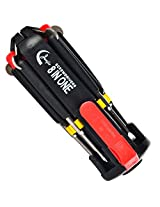 8 in 1 Multi-function LED light Screwdriver Screw Driver Tool Kit Set Torch 03