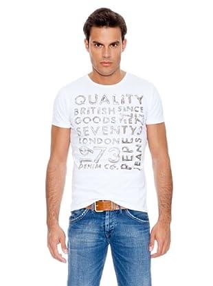 Pepe Jeans London Camiseta Yoxhall (Blanco)