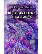 Kuopiotraktens Fogelfauna (Finnish Edition)