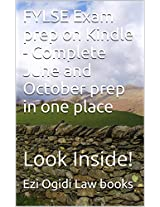 FYLSE Exam prep on Kindle - Complete June and October prep in one place: Look Inside!
