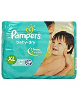 Pampers Baby Dry Diapers Extra Large 32 Pieces (Over 12 Kg)