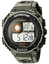 Timex Expedition Digital Grey Dial Men's Watch - T49981