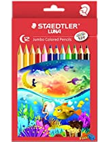 Staedtler Jumbo coloured Pencils 12 shades