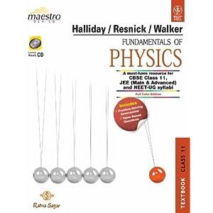 Fundamentals Of Physics, Textbook & Practice Book, Class 11 (Set Of Text Book): Textbook Class 11