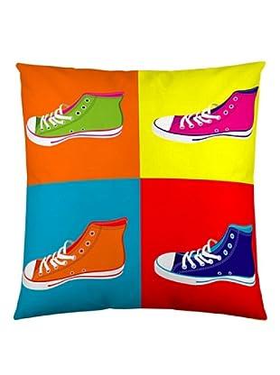 Naturals Funda de Cojín Zapatillas (Multicolor)