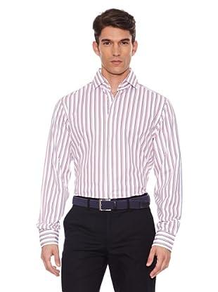 Hackett Camisa Rayas (Marino / Rojo)