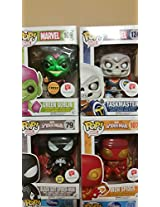 Walgreens Exclusives Funko Pop Marvel Set 2nd Wave