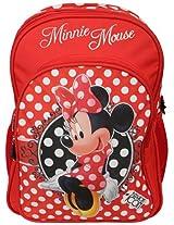 Minnie School Bag Fashion Icon, Multi Color 18-inch