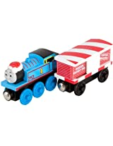 Thomas And Friends Wooden Railway - Thomas And the Musical CAndy Cane Car