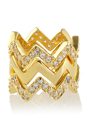 Joanna Constantine Golden Rockland Stacked Ring