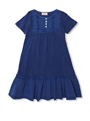 Noa Noa Vestido Mini Fine Dye (Azul)