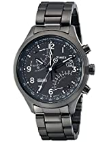 Timex Men's TW2P60800DH Intelligent Quartz Gunmetal-Tone Stainless Steel Bracelet Watch