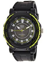 Q&Q Analog Black Dial Men's Watch - VR16J004Y