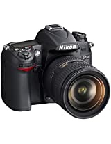 Nikon D7000 DSLR (with AF-S 18-105mm VR Kit Lens) (Black)
