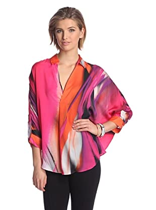 Josie Natori Women's Sunset Top (Perfect Pink)