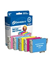Dataproducts DPCT078MP Remanufactured Ink Cartridge Replacement for Epson T078 (Multi-Pack - Cyan, Magenta, Yellow, Light Cyan, Light Magenta)