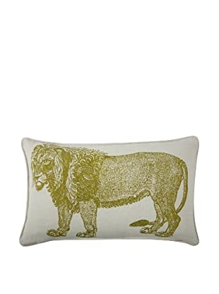 Thomas Paul Lion Feather Pillow, Ochre