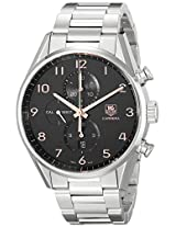 TAG Heuer Men's CAR2014.BA0799 Carrera Silver-Tone Stainless Steel Watch
