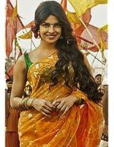 Bollywood Replica Priyanka Chopra Yellow Colored Saree