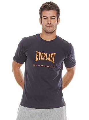 Everlast Camiseta Tucker (Azul Oscuro / Naranja)