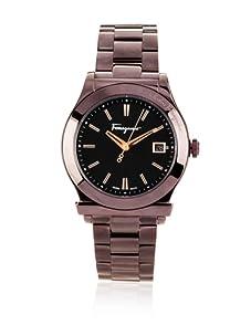Ferragamo Men's F62LBQ6509 S065 Ferragamo 1898 Brown IP Date Watch