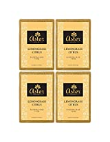 Aster Luxury Lemongrass Citrus Bathing Bar 125g - Pack of 4