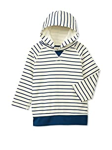 Soft Clothing Kid's Trevor Hoodie (St Tropez Stripe)