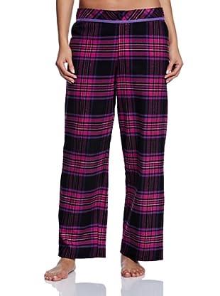 Cyberjammies Pantalón De Pijama Liquorice Luxe Checks (Fucsia / Negro)