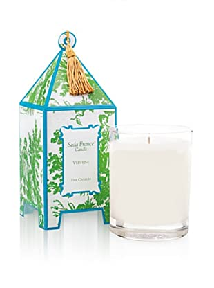 Seda France Verveine Pagoda Box Candle, 10-Oz.