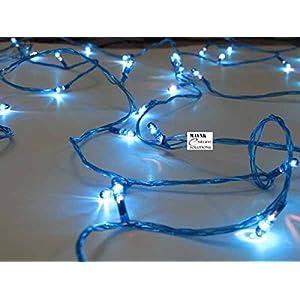 4 Pcs Decorative Blue Rice Rope Light Celebrations Festivals Party Diwali Temple