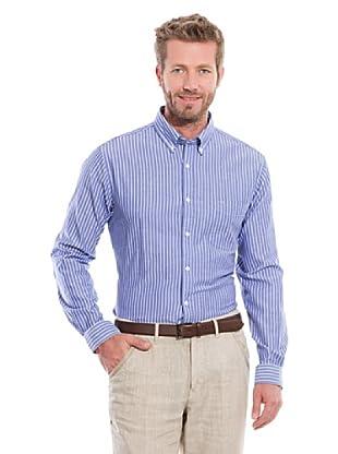 Cortefiel Camisa Oxford (Azul Medio)