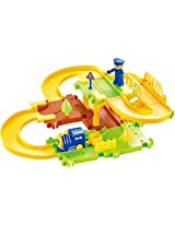 Saffire Happy Commander Train Set with Upper and Lower Level and Bridge