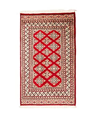 RugSense Alfombra Kashmir Rojo/Beige 149 x 90 cm