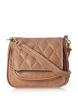 gorjana Women's Hudson Quilted Small Cross-Body, Truffle
