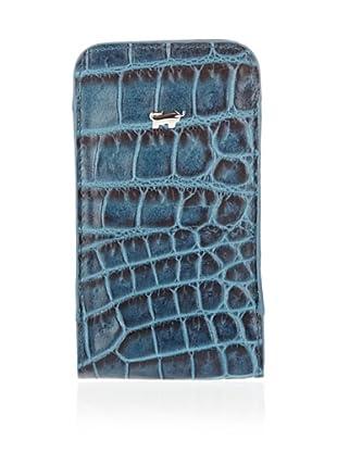 Braun Büffel Smartphoneetui Santa Croce (Türkis)