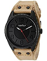 Caravelle by Bulova Sport Analog Black Dial Men's Watch - 45B124