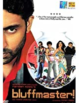 Bluffmaster (Hindi Film DVD with Optional Subtitles in English, French, German, Spanish, Malay, Arabic, Italian, Dutch and Portugese) - Two DVD Pack