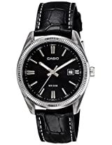 Casio Enticer Analog Black Dial Men's Watch - MTP-1302L-1AVDF (A489)