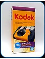 Kodak HD Power Flash Single Use 35mm camera - 39 EXPOSURES