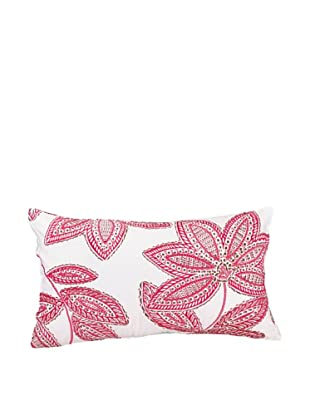 Trellis Decorative Pillow, Pink