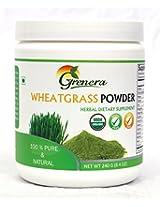 Organic Wheatgrass Powder - 240 gram Jar