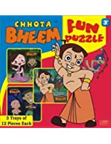 Chhota Bheem Fun Puzzle, Multi Color