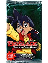 Beyblade Collision Trading Card Game Booster Pack