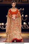 Bollywood Replica Aliya Bhatt Net and Georgette Lehenga In Red Colour NC815