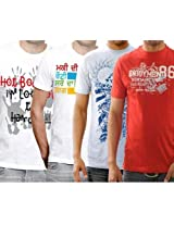 Funktees Best Price Mens Cotton Small Size T-Shirts - Pack of 4