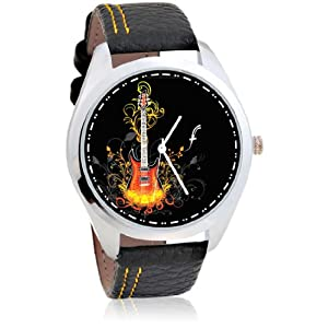 Foster's Santana Guitar Artwork Dial Analogue Multi-Color Watch AFW0000521