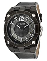 Police Analog Black Dial Men's Watch - 12696JVSB-02