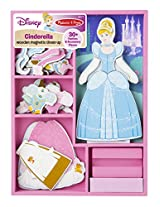 Cinderella Wooden Magnetic Dress-Up Play Set