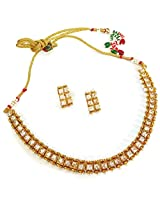 Divinique Jewelry Charming single strand Necklace set