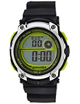 Sonata Digital Black Dial Men's Watch - 77005PP01J